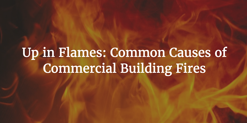 causes of commercial building fires